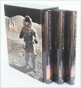 A Man On The Moon 3 Vols In A Case Brand New Hardcover