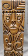 Vintage Lighting Mid Century Boothe Industria Colombiana Native Totem Table Lamp
