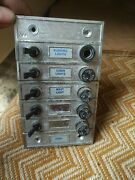 Vintage Perko Toggle Switches / Fuses 511a 511b 511c Oand039day 20and039 Sailboat