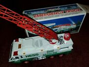 1996 Hess Emergency Gasoline Truck With Box - Great Condition