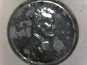 1943 S Lincoln Penny Zinc Coated Steel