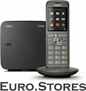 Gigaset Cl660 Anthracite Cordless Phone Color Display Baby Phone New