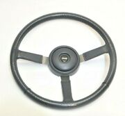 Jeep Wrangler Yj 87-95 Gray Leather Steering Wheel Horn Button Cap