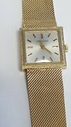 Vintage Solid 14 K Gold Longines Menand039s/ Ladyand039s Watch Runs 65 Long