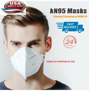 Qty 50 Kn95 Face Masks - Disposable Mouth Cover Protective Covers