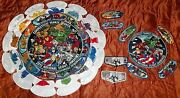 Connecticut Yankee 2013 Bsa Jamboree 313 Oa 49-patch Marvel W/ Shadow And Ghost