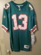 Dan Marino Signed Authentic Wilson Miami Dolphins Teal Jersey With Marino Hologr