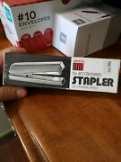 New In Box Vintage Acco 40 Stapler Retro Office Supplies