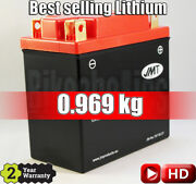 Jmt Lithium Motorcycle Battery Ytx14ah - Bombardier Rally 200 - 2003 - 2006