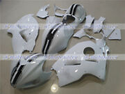 Fairing Black White Injection Complete Plastic Fit For 1997-2007 Gsx-r 1300 S44
