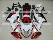 Fairing White Red Black Full Injection Plastic Fit For 2008-2018 Gsxr 1300 Q41