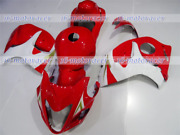 Fairing Abs Injection Red White Complete Plastic Fit For 2008-2018 Gsxr1300 Q05