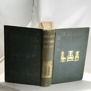 1850 The Architecture Of Country Houses-gilt Blind Green Cloth