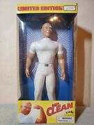 Mr. Clean Limited Edition Action Figure Doll 1/100,000 Serial 1 Rare