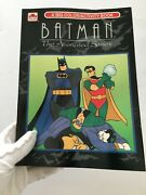 Batman The Animated Series Color And Activity Golden Book 1993 Rare Collectible