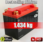 Jmt Lithium Motorcycle Battery Ytx20h - Yamaha Yfm 660 Grizzly - 2002 - 2008