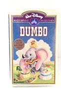 Dumbo Rare Walt Disney Masterpiece Collection Vhs Tape Stock No 024 - Tape No 11