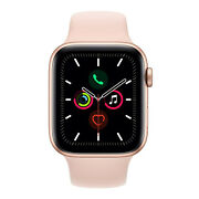 Apple Watch Series 5 - Gps Only 44mm Gold Aluminum Case Pink Sand Sport Band