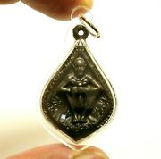 Lp Suang Miracle Buddha Magic Thai Amulet Lucky Rich Charm Water Proof Pendant