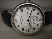 Eberhard And Co. 8 Days M-21017 S/s 40mm Manual Wind Strap Dress Watch. Very Nice.