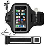 Gym Running Exercises Workouts Sport Arm Band Case For Ipod Touch 7/6/5/4 Gen