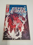 1970and039s The Silver Surfer 3 Marvel Comics Cover Posterfoom