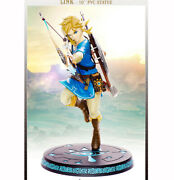 First 4 Figures The Legend Of Zelda Breath Of The Wild 10 Pvc Link Statue