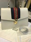 Sylvie Top Handle Bag White. Cost Andpound3600