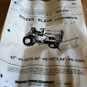 Snapper Lawn Garden Tractor Mf 42 Dozer Snow Blade New Oem Nos Pick Up Only