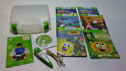 Leap Frog Tag Reading System Pen Stylus Green 6 Books Usb Cable Connect Cd