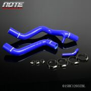 For 05-07 Ford Focus Zx3/zx5/svt Zetec 2.0l Silicone Radiator Hose Kit Blue