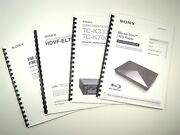 Sony Str-d1090 Str-d2090 Receiver Owners Manual
