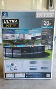 ☀️⛱🔥 Intex Ultra Xtr 20ft X 48in Frame Pool Brand New Fast Shipping