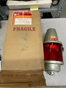 New In Box Federal Signal 110v. Beacon Ray Red Light 27s Lamp 75par38 Series B1