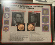 Lincoln And Kennedy - Truth Is Sometimes Stranger Than Fiction Coin Collection