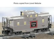 American Flyer By Lionel Burlington Extended Vision Caboose 6-48735