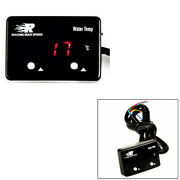Power12v Dc Max. 0.3a Water Temp Gauge Npt 1/ 8 Digital Display With Red Led