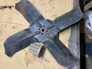 1968 Ford Galaxie Fan Blade Cf-c8ta-f And Spacer