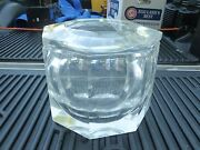 Mid Century 70's Mod Huge Faceted Alessandro Albrizzi Lucite Ice Bucket