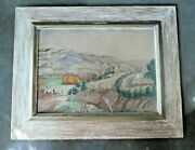 Charles Henry Reynolds Watercolor Of Taos New Mexico