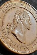 1878 Valley Forge Centennial Medal ✪ Unc ✪ George Washington W313 Beauty