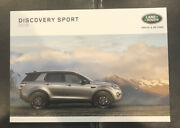 2018 Land Rover Discovery Sport 94-page Original Sales Brochure