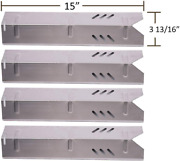 15 Inch Stainless Steel Heat Plate For Uniflame Gbc1059wb, Backyard By13-101-001