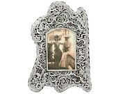Antique Victorian Sterling Silver Photo Frame 1897