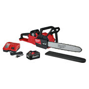 Milwaukee 2727-1865 M18 Fuel 16 In. Chainsaw Kit And 6 Ah Battery New
