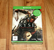 Ryse Son Of Rome Pre-order-box Incl A T-shirt Xbox One New And Sealed Size L