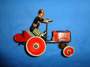 Marx Coo Coo Wind-up Tin Toy Car. Working.