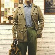 Vintage Multi-pocket Cotton Winter Jacket Menand039s Overalls Work Casual Army Coats