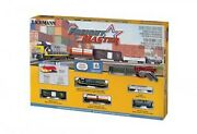 Bachmann Freightmaster W/e-z Track System Train Set 24022 N Scale