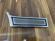 Nos 73 1973 Ford Gran Torino Cobra Front Fender Lower Front Molding Trim Right